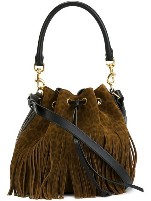 Shop Saint Laurent 'Emmanuelle' bucket bag in Luisa World from the world's best independent boutiques at farfetch.com. Shop 300 boutiques at one address.