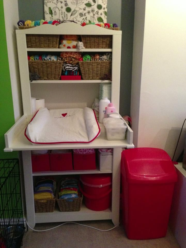 baby changing unit, changing station, cloth nappies, cloth diapers, disposable nappies, babies, ikea, ikea hensvik, nappy bin, diaper bin.