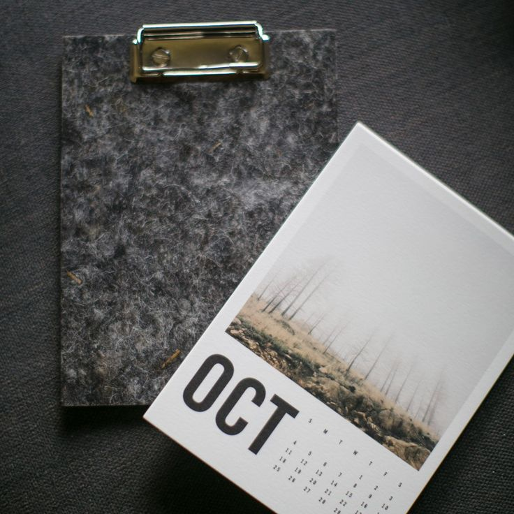 The perfect holiday gift - a unique, sustainable and beautiful calendar. Made using recycled fleece from upland UK sheep // Artifact Uprising