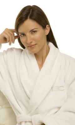 Housecoat. EvelineCharles Lifestyle SPA ROBE