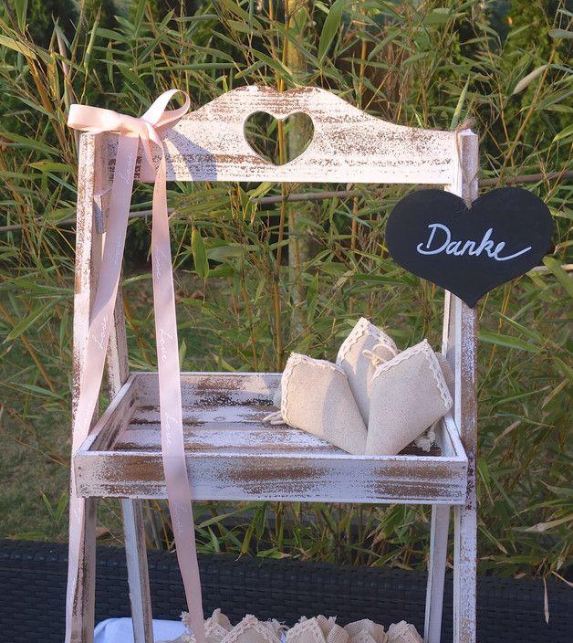 Etagere Tablett Hochzeit Gastgeschenke Deko Vintage Bohème Holzetagere Danke