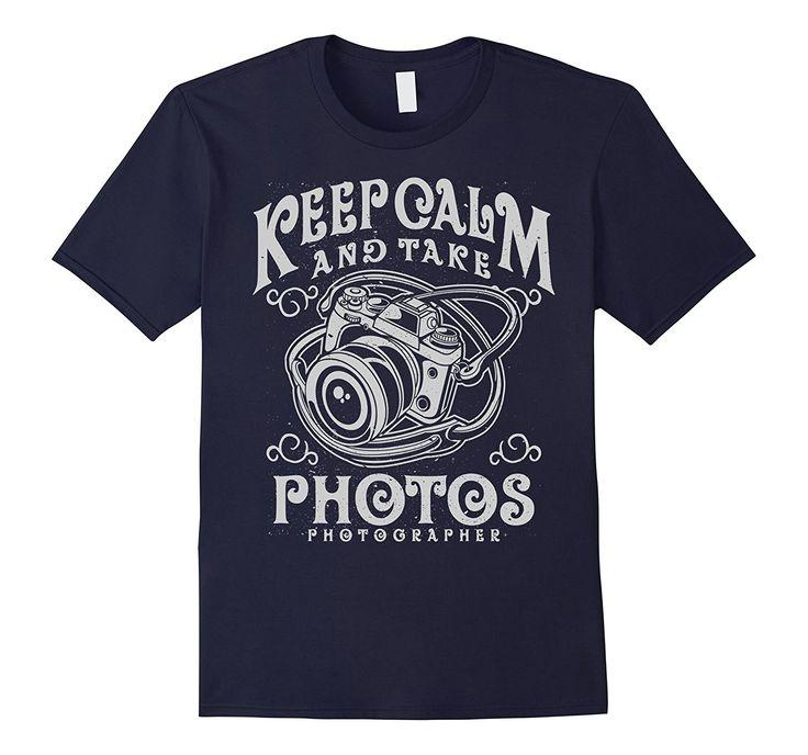 Keep Calm Photos Retro Camera T-Shirt