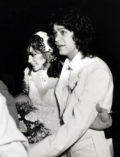 80s celebrity wedding eddie van halen valerie bertinelli for Who is valerie bertinelli married to