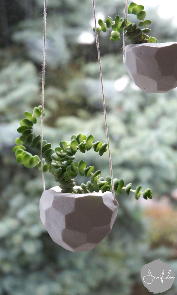 junifaden: Urban Jungle Bloggers: hanging planters & DIY