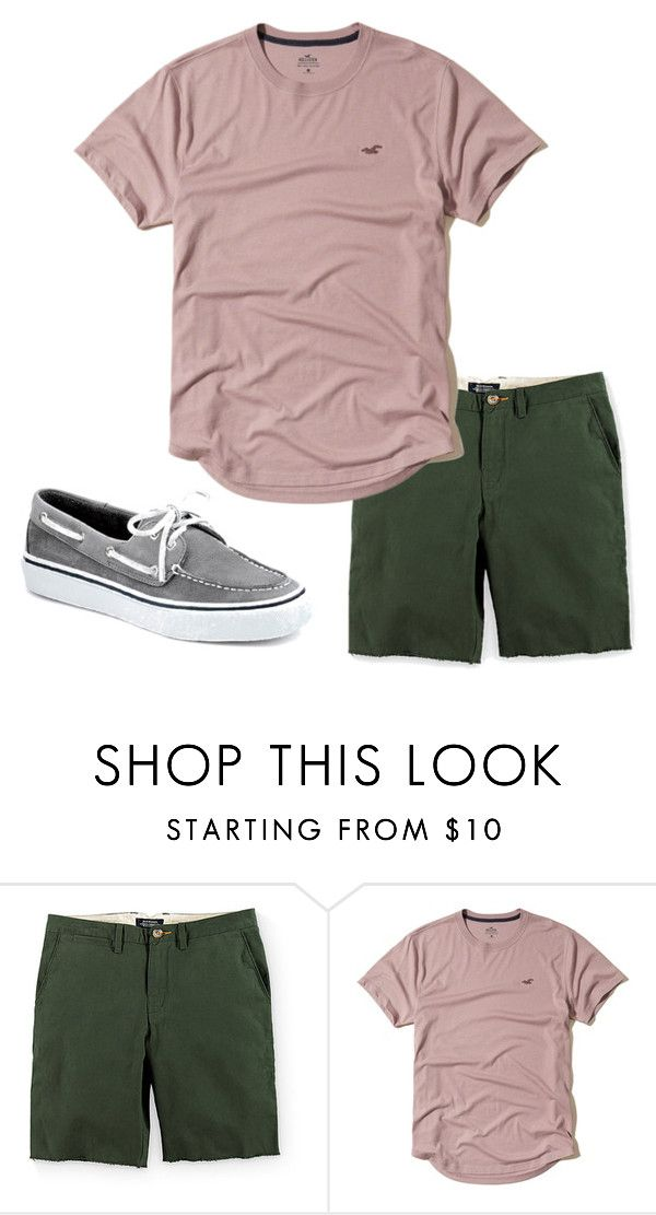 """""""Boys C 31"""" by tobyla on Polyvore featuring Roark, Hollister Co., men's fashion, menswear, sperry, hollister and teenboys"""