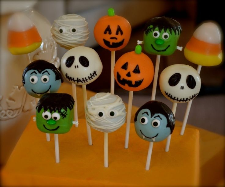 Halloween Cake Pop Ideas With Images Birthday Halloween Party