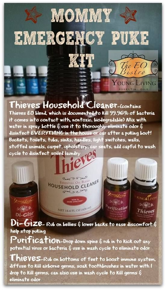 Thieves, DiGize and Purification survival kit for the flu bug! To learn more: http://www.aprilmasterson.com/digize-for-all-stomach-issues/