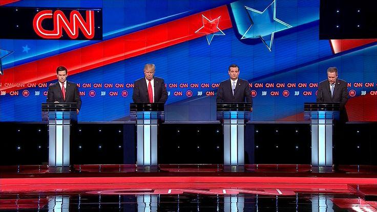 CNN's Miami Republican Presidential Debate 2016 on Behance