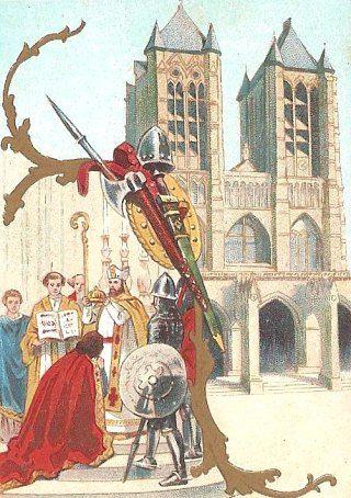 Sacre de Hugues Capet à Noyon