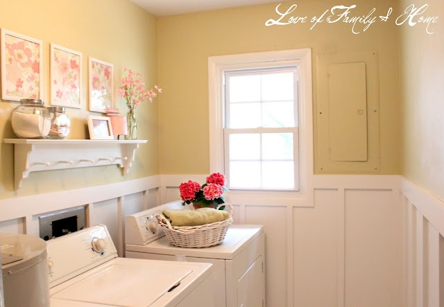 TOP LOAD LAUNDRY ROOM --YELLOW
