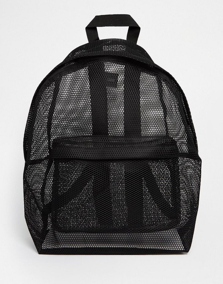 Image 1 of ASOS Mesh Backpack
