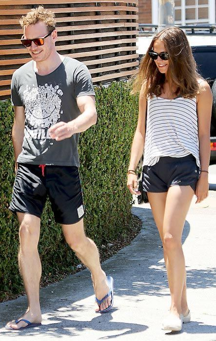 Michael Fassbender and his ON and OFF girlfriend, Alicia Vikander...
