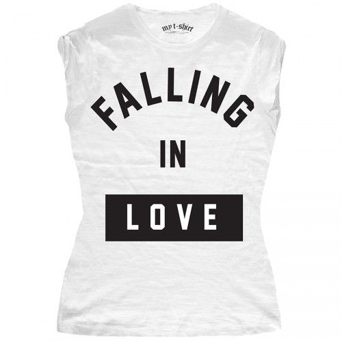 "T-SHIRT DONNA ""FALLING IN LOVE"""