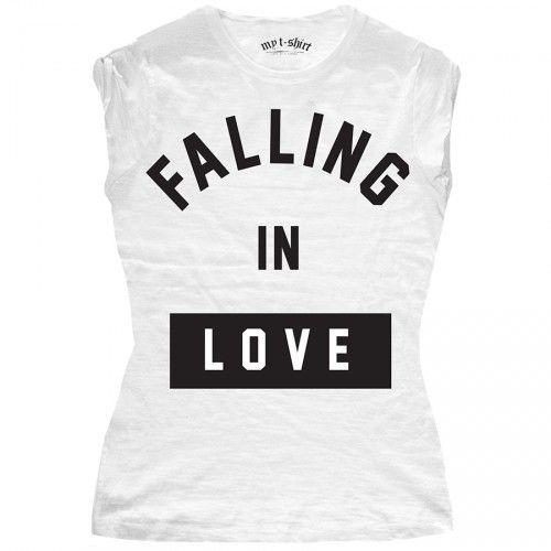 "T-SHIRT DONNA ""FALLING IN LOVE"""