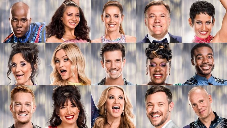strictly come dancing 2016 line up