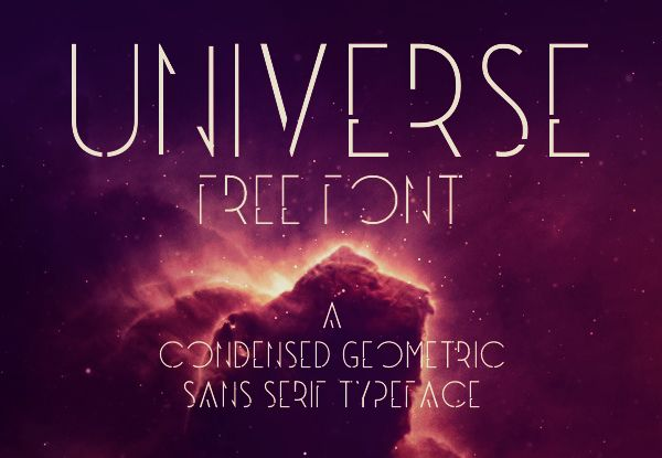 Universe font, 30 of the best free fonts on the web