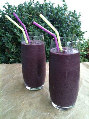Aronia Açai Blueberry Anti-Aging Smoothie