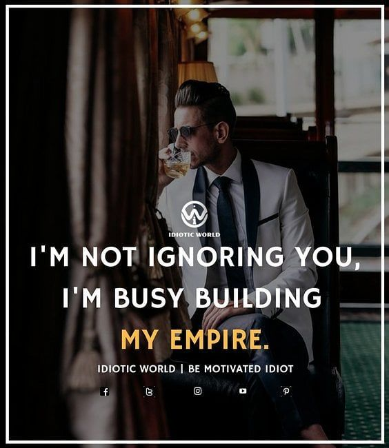 "81 Likes, 1 Comments - Idiotic World (@idiotic.world) on Instagram: ""I'm Building my own Empire ✌️ -- For More Quotes Follow @idiotic.world ✌️ -- #money #motivation…"""