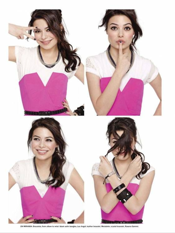 Miranda Cosgrove I miss iCarly:( That used to be one of my favorite shows.