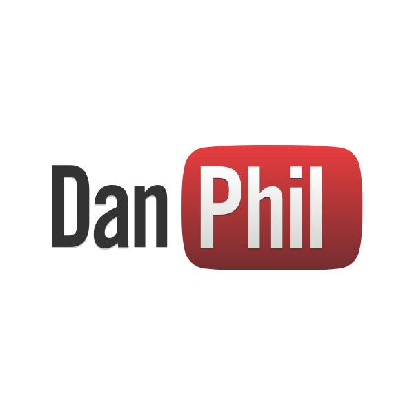 YouTube Logo ❤ liked on Polyvore featuring dan and phil, youtube and filler