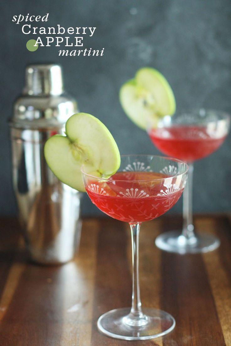 Spiced Cranberry Apple Martini | Freut Cake