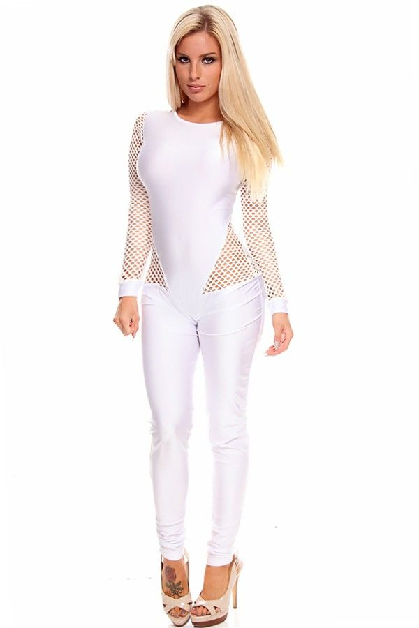 25  trending White Long Sleeve Jumpsuit ideas on Pinterest ...