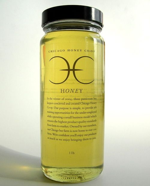 Chicago Honey Co-op 1 lb Honey — CHICAGO HONEY CO-OP