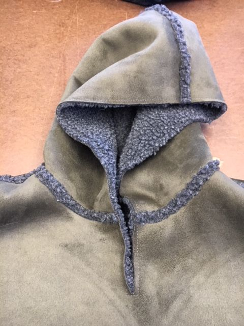 From the Design Lab: Loden Fleece Cape New England made