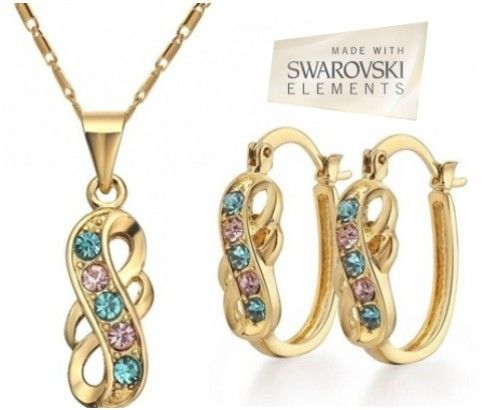 Gift your Beloved this stunning Gold Plated Twist Jewellery Set & win her heart this Valentine's Day. Delivered to you for just $39..   Grab it here>>> http://www.ikoala.com.au/gold-plated-twist-jewellery-set-made-with-swarovski-elements-on-ikoala-jewellery-deals-deal-2255.html  #ikoaladeals #valentinesday #Fashion