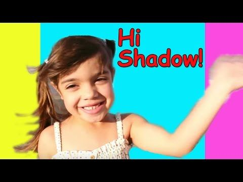 Hi Shadow | Nursery Rhymes for Kids | Action movement song for Kindergarten children | Patty Shukla - YouTube