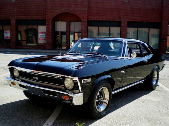See Our Top Muscle Cars At >> http://musclecarshq.com/best-muscle-cars-1969-chevy-nova-ss/