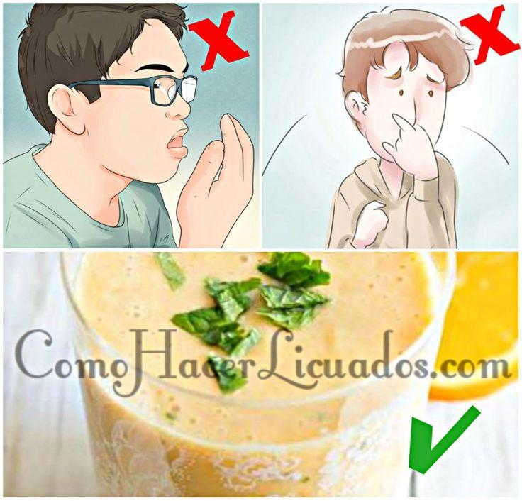 remedios caseros para el mal aliento estomacal