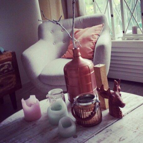 #Home copper #Fall decoration