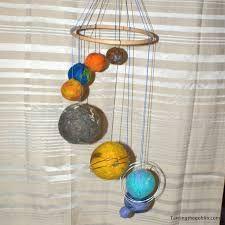 Image result for papier mache solar system