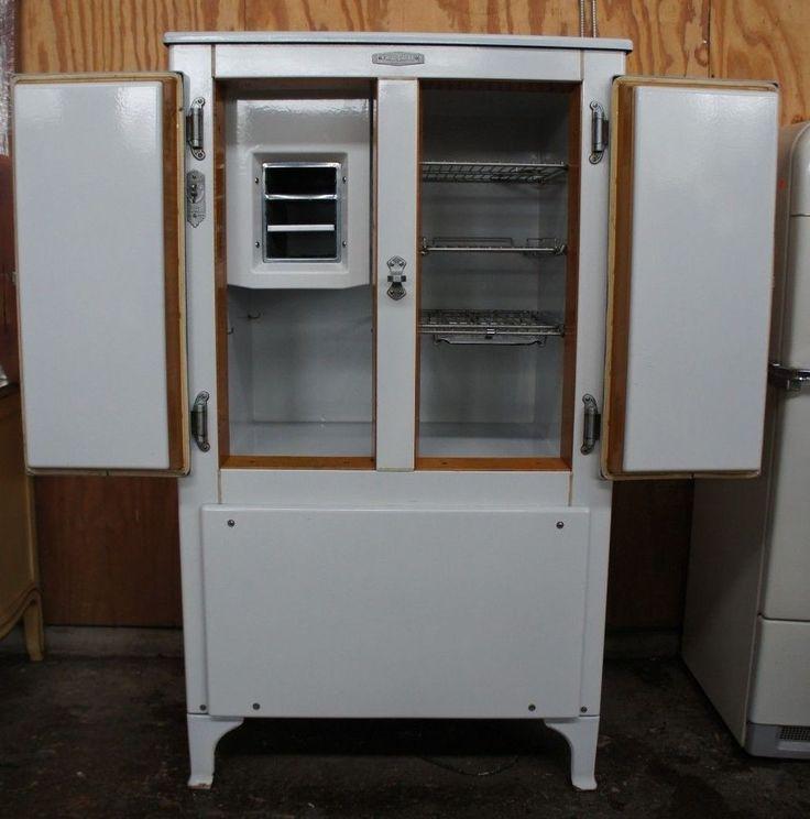 Rare Antique 1930s Frigidaire Ap 7 Refrigerator Ice Box