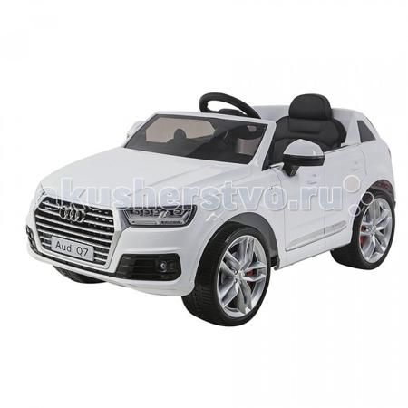 Shine Ring Audi Q7 12V/10Ah  — 16560р. -------------------------  Shine Ring Электромобиль Audi Q7 12V/10Ah SR159  Электромобиль Audi Q7 выполнен в лучших традициях джипов для детей. Это копия, напоминающая реалистичный автомобиль, изготовленный по лицензии немецкого автоконцерна. Лучшие ходовые качества, возможность дистанционного управления и мультимедийное сопровождение поездки. Ваш малыш будет вовлечён в мир современного автопрома, интересного катания и времяпрепровождения на свежем…