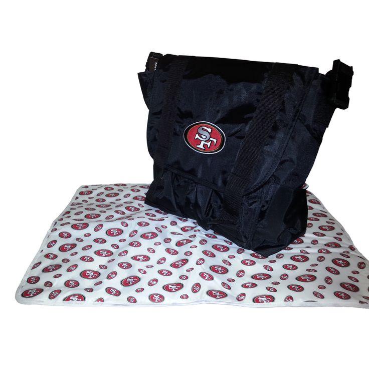 san francisco 49ers nfl sitter baby diaper bag miranda pinterest diaper. Black Bedroom Furniture Sets. Home Design Ideas