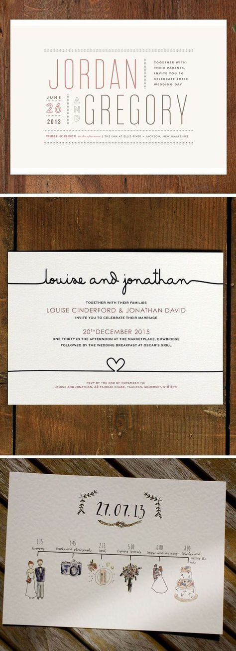 creative and fancy wedding invitation wording and