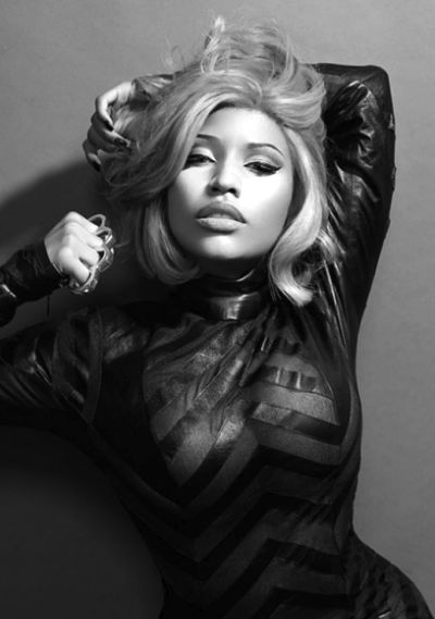 Nicki Minaj. Not a huge fan of her, but i think she looks beautiful in this photo. Somewhat normal