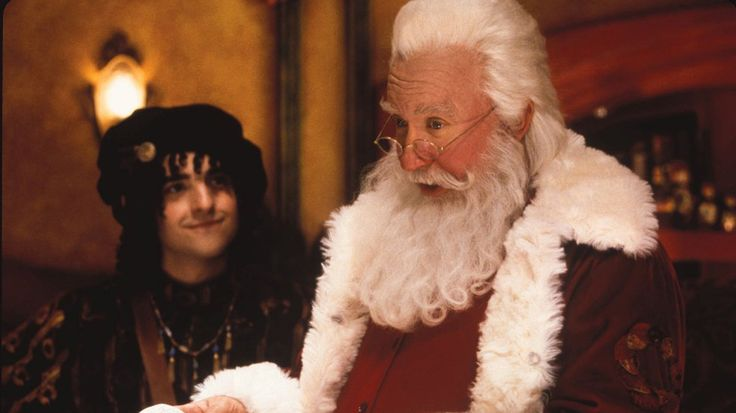The-Santa-Clause-2 with Bernard and  Tim Allen as Santa Clause
