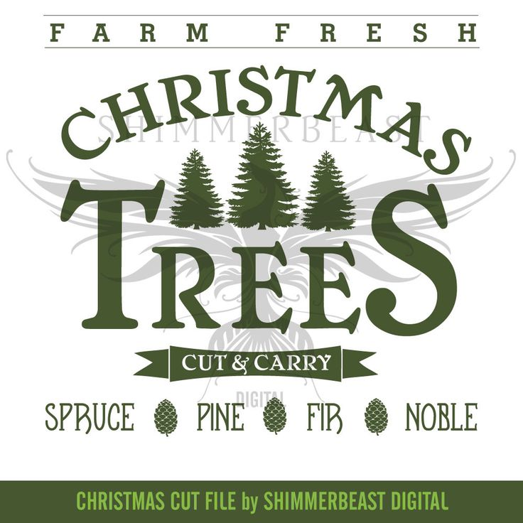 Christmas SVG Cut File | Farm Fresh Christmas Trees | Vintage Christmas svg | Christmas SVG design | Christmas SVG sayings by ShimmerbeastDigital on Etsy https://www.etsy.com/listing/494249991/christmas-svg-cut-file-farm-fresh