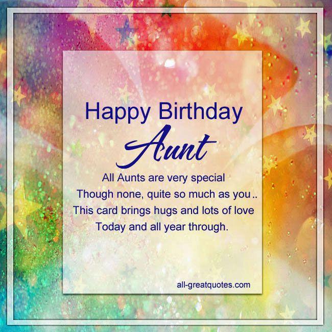 Best 25+ Happy Birthday Auntie Ideas On Pinterest