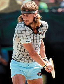 Remember Bjorn Borg...tennis star between 1974 and 1981