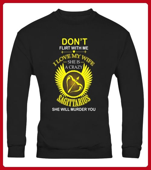 Zodiac Shirt for Husband Love Sagittarius Wife Marriage Gift - Halloween shirts (*Partner-Link)