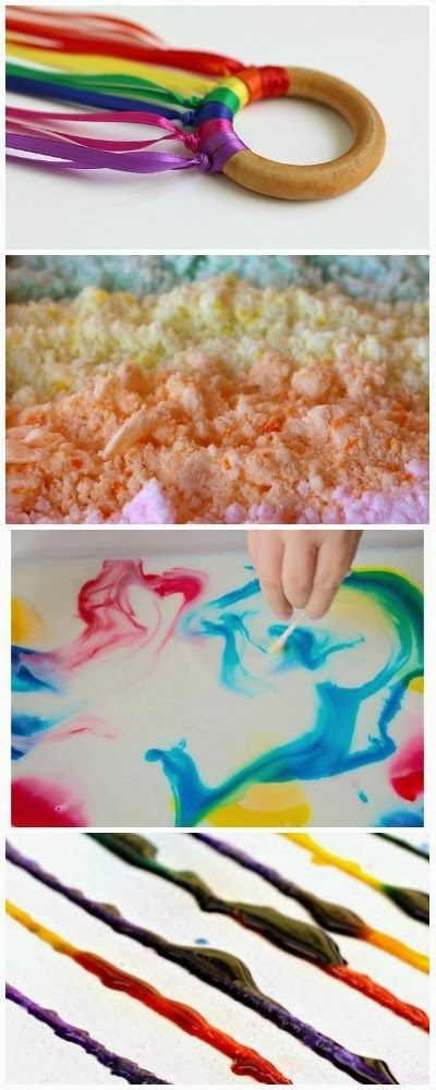 12 fun and colorful activities for kids: #kids #activities #fun