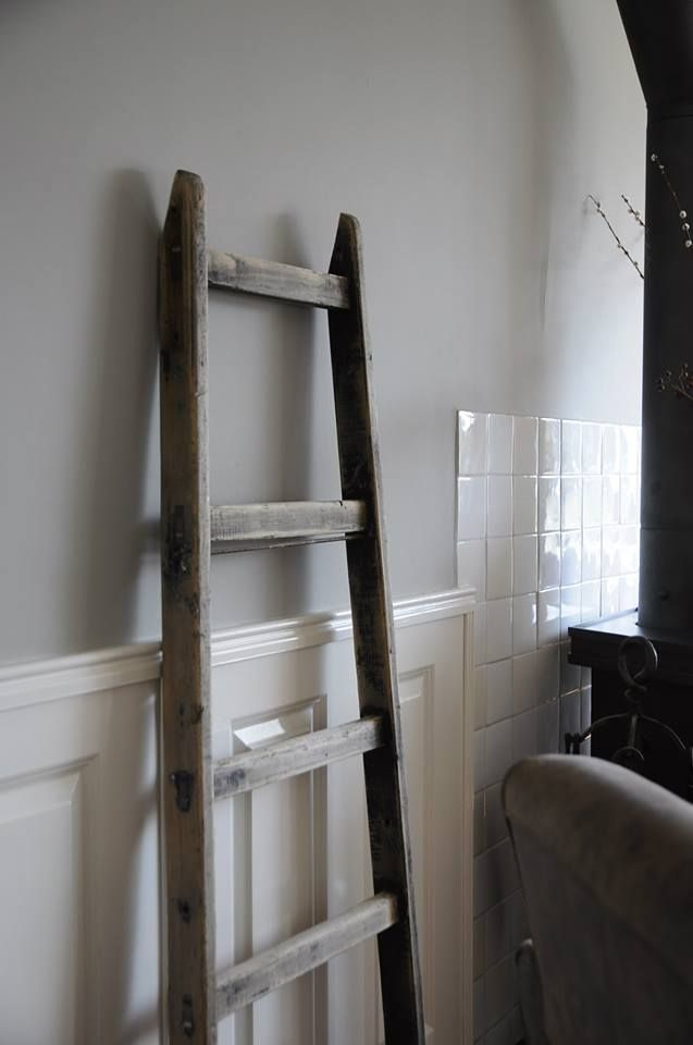 One of the walls at the new house will be painted in Monument Grey by Painting the Past