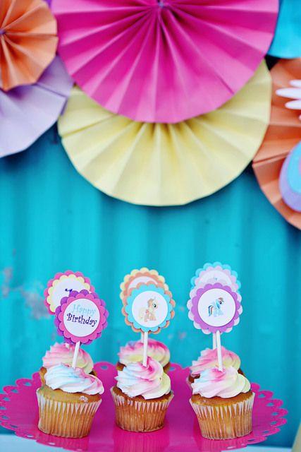"Photo 1 of 22: My Little Pony / Birthday ""Twins Turn 1""   Catch My Party"