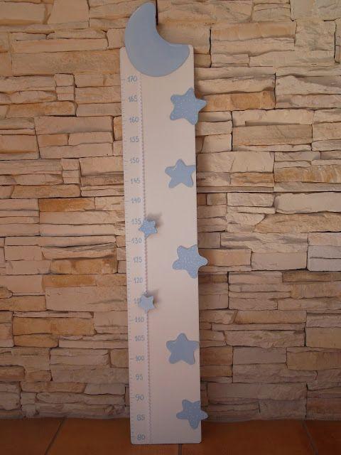 Las 25 mejores ideas sobre medir la altura de ni os en - Medidor infantil madera ...