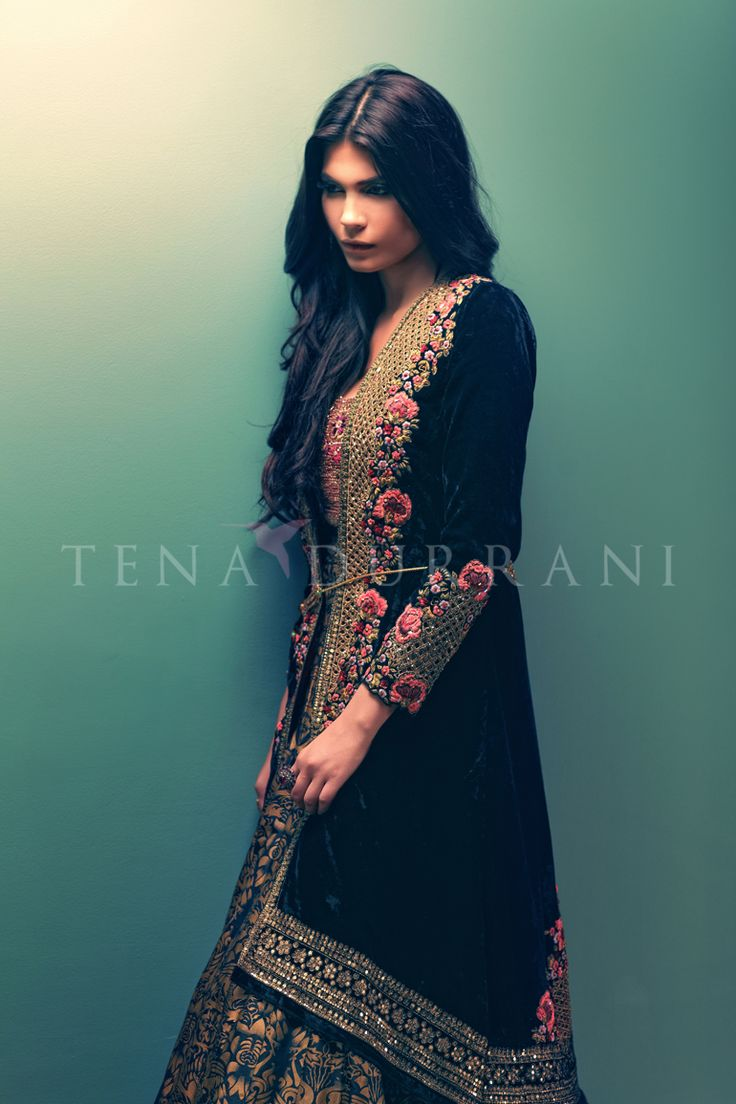 Pakistani designer Tena Durrani Lattice Garden C34 Shop now at…
