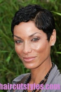 Short Hair Pictures Nicole Murphy Very Short Haircut – Latest Short Hairstyles 2013